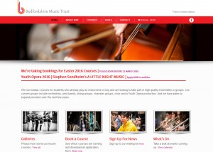 THE BEDFORDSHIRE MUSIC TRUST