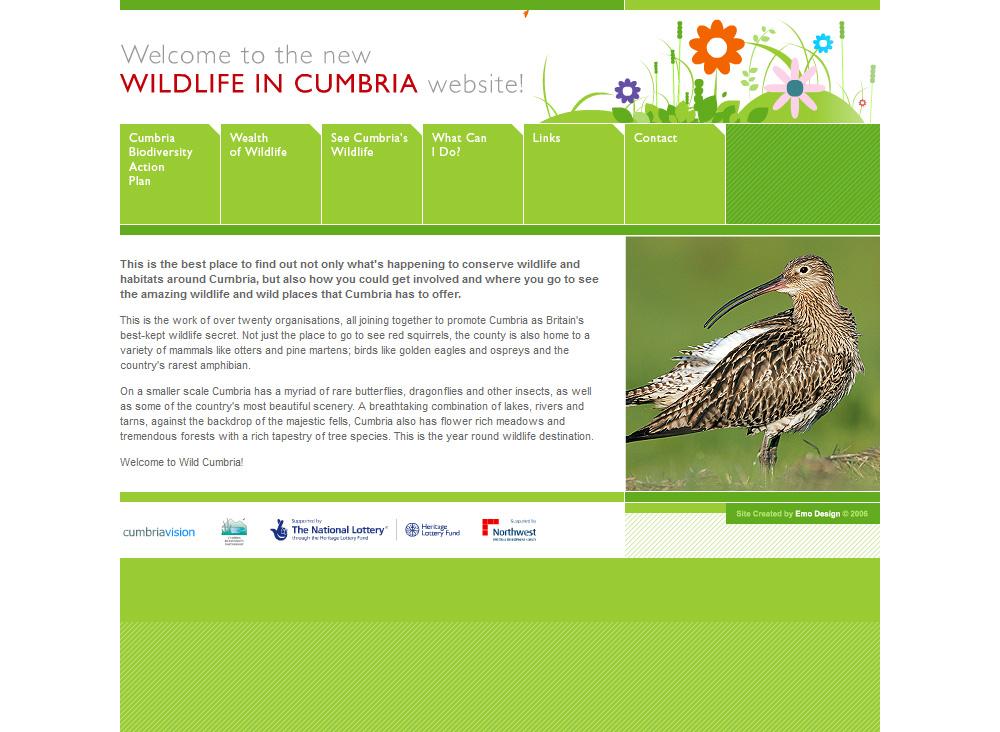 WILDLIFE IN CUMBRIA